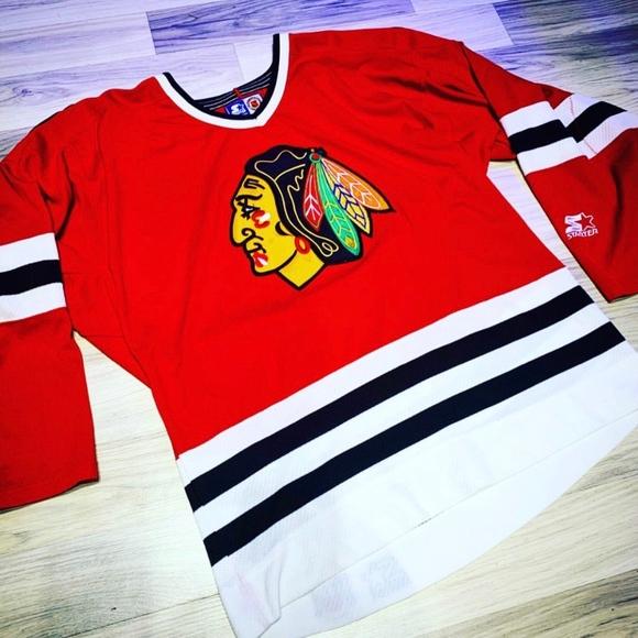 chicago blackhawks starter jersey